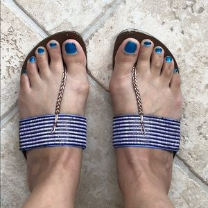 Indian-Inspired Flat Sandals